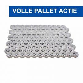 Easygravel®3XL splitplaat wit  volle pallet actie