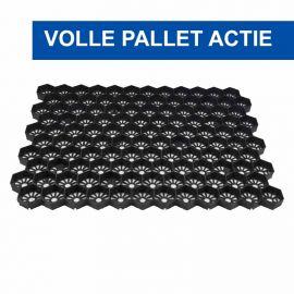 Easygravel®3XL splitplaten zwart volle pallet actie
