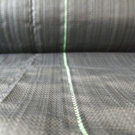 anti-worteldoek detail rol met streep