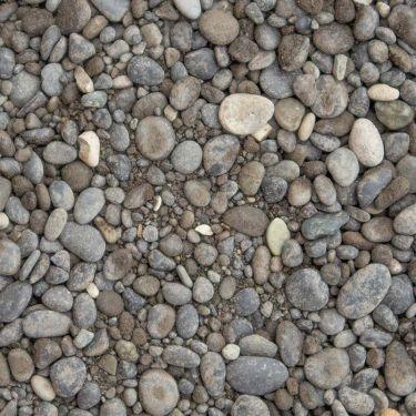 Beach pebbles zwart 0 - 5mm