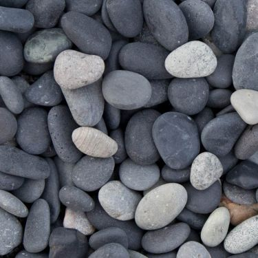 Beach Pebbles zwart 8 - 16mm