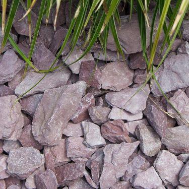 Canadian slate paars 30 - 60 aangelegd