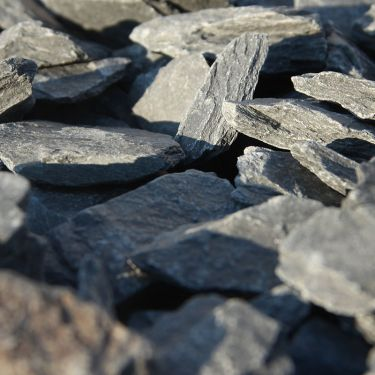 Canadian Slate zwart 30 - 60mm close