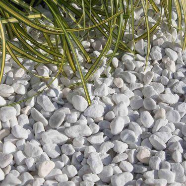 Carrara grind aangelegd