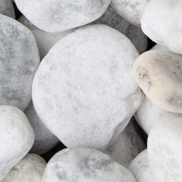 Carrara keien (40 - 80mm) nat