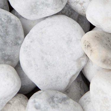 Carrara keien 40 - 80mm (4 - 8cm) (nat)