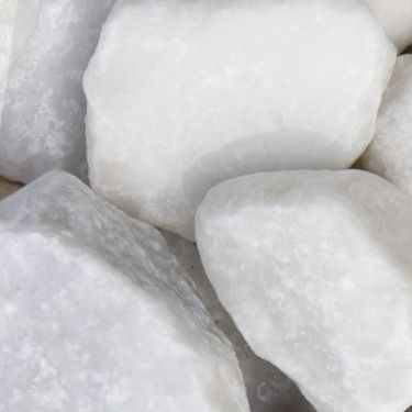 Crystal White breuksteen (40 - 80mm) nat