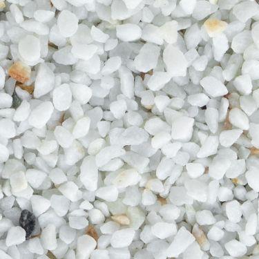 Crystal white split 5 - 8mm (nat)