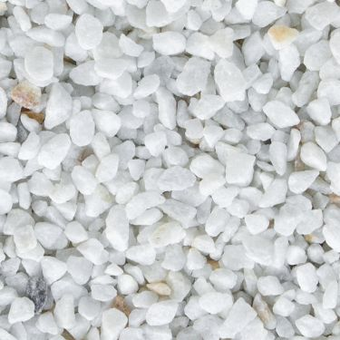 Crystal white split 5 - 8mm