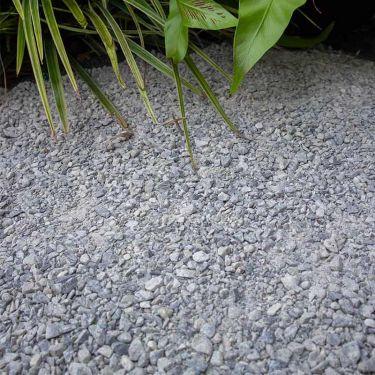 Dolomiet silver-grey aangelegd
