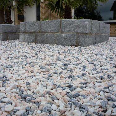 Flamingo grind 14 - 25mm aangelegd
