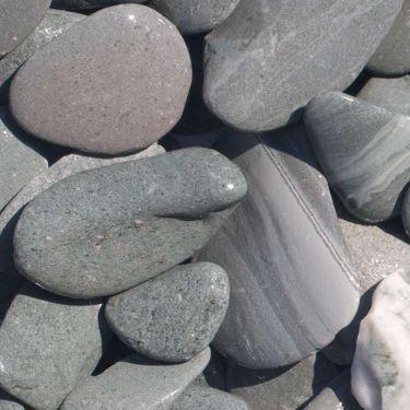 Flat Pebbles groen 30-60mm (nat)
