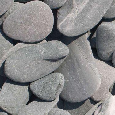 Flat Pebbles groen 30-60mm