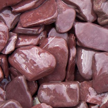 Flat Pebbles paars 30/60mm (nat)