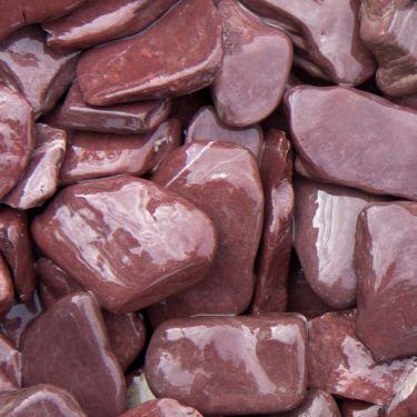Flat Pebbles paars 30/60mm (nat)