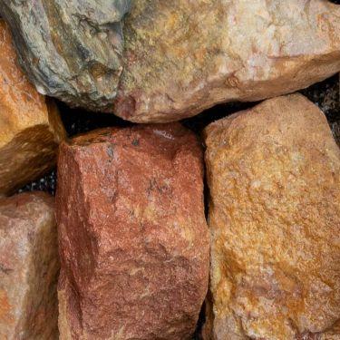 Grauwacke breuksteen 30 - 60mm (3 - 6cm) (nat)