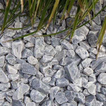 Icy blue grind 16 - 25mm aangelegd