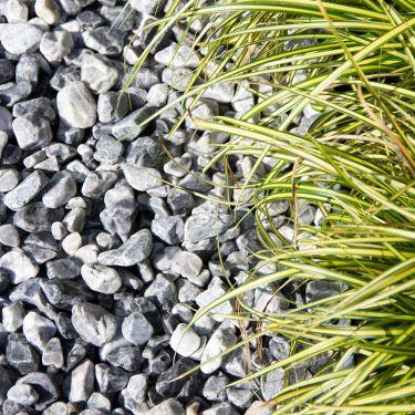 Icy blue grind 8 - 16mm aangelegd