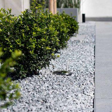 Icy blue grind 8 - 16mm aangelegde tuin