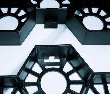 Kliksysteem Easygravel® splitplaat