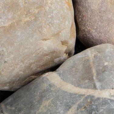 Maaskeien / Moräne keien 60 - 90mm (6 - 9cm)