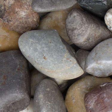 Maaskeien / Moräne keien 30 - 60mm (3 - 6 cm)