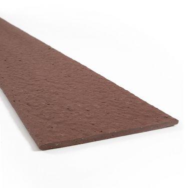 Multi-Edge ECO afboording recht bruin - corten