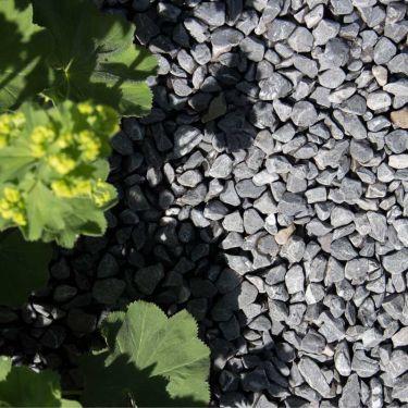 Nordic grey grind aangelegd