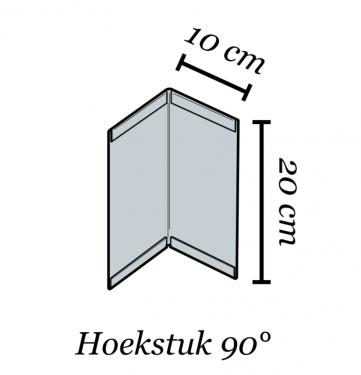 Afboording Multi-Edge ADVANCE Hoekstuk incl koppelset