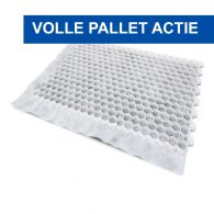 Actie 3 pallets EuroGravel PRO wit 99,39m2