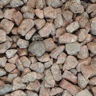 Schots graniet losgestort