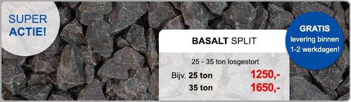 Basaltsplit Algemeen