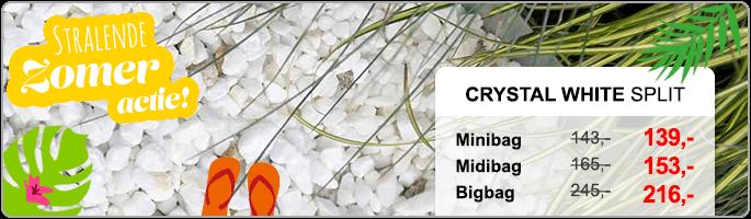 Crystal White Split NL