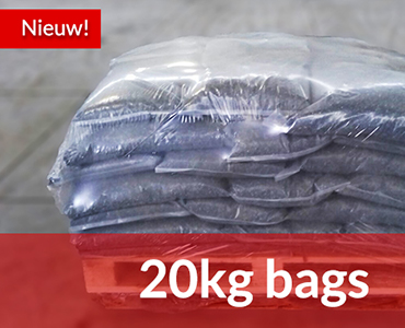 20KG zakken grind en split verkrijgbaar bij zandbestellen.nl!
