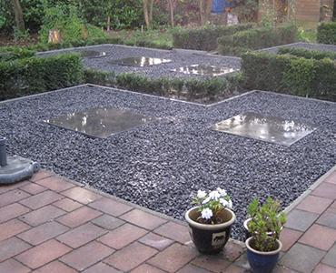 Goedkoop grind (of split): Een mooie tuin voor weinig!