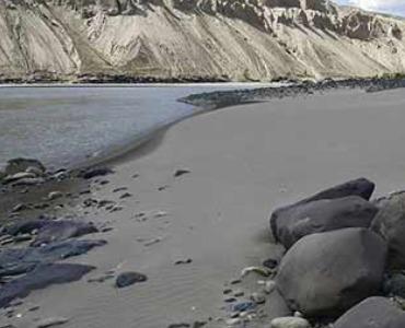 Rivierzand: de winning van zand uit de rivier