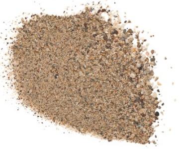 Het gewicht van zand