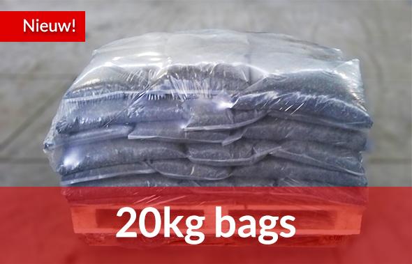 20kg bags vanaf 2 stuks te bestellen