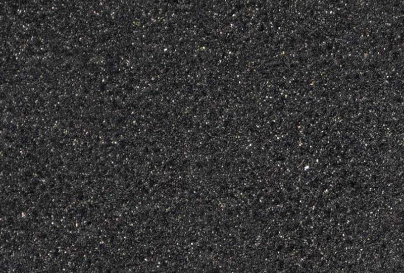 Inveegzand zwart