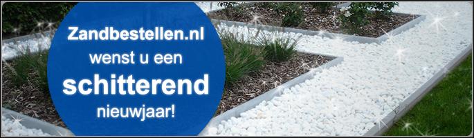 Zandbestellen.nl wenst u een schitterend nieuwjaar!